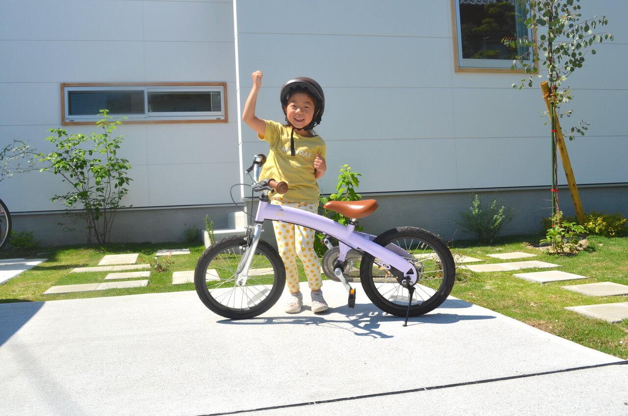 低年齢化が進む補助なし自転車デビュー。運動苦手な5歳女児に訪れた転機とは?