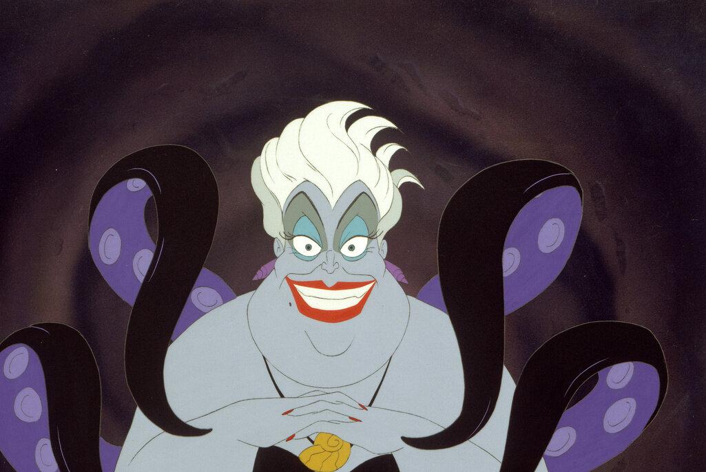 海の魔女アースラをはじめディズニー・ヴィランズは悪役なのに大人気!