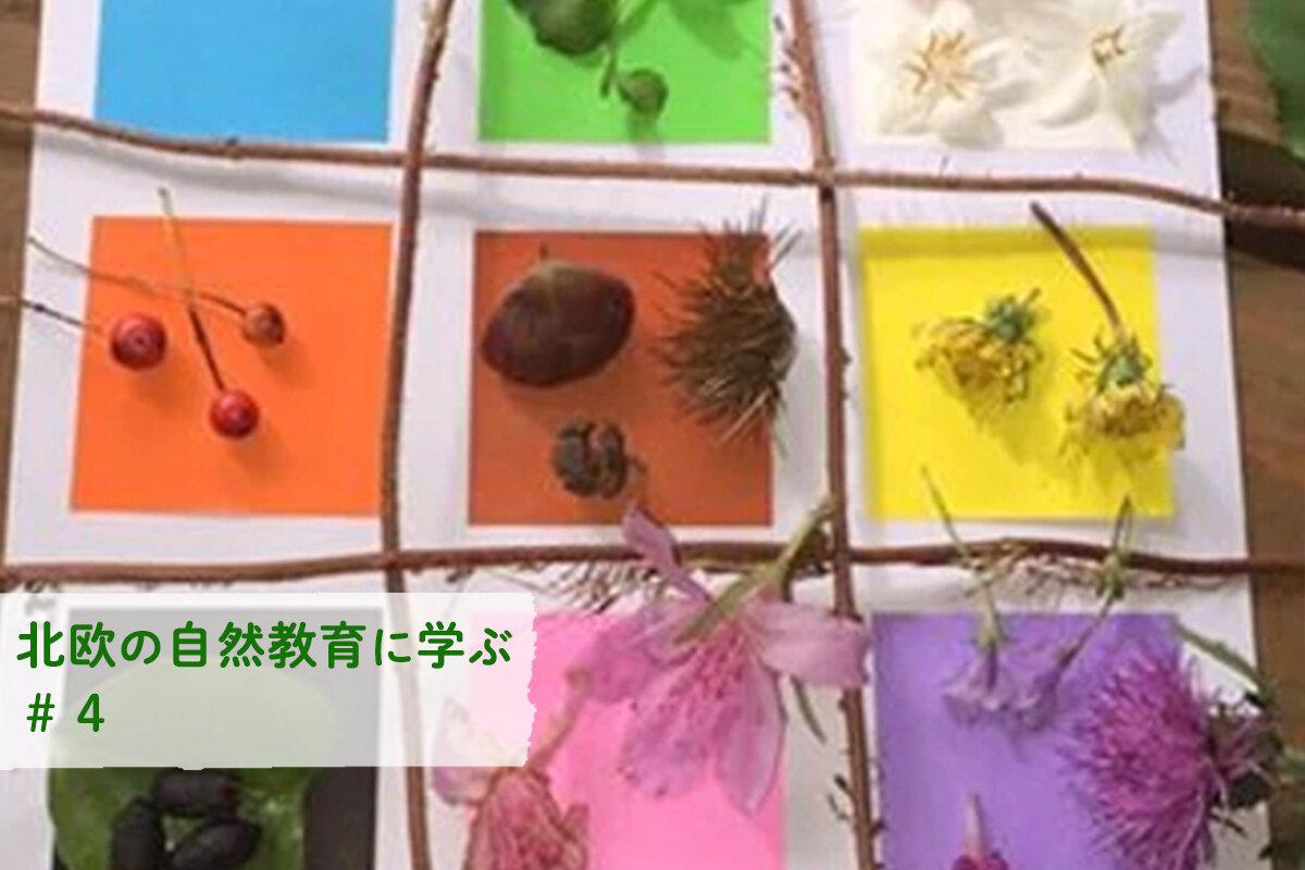 「森のムッレ教室」温度・香り・色のゲームを親子で楽しむ!