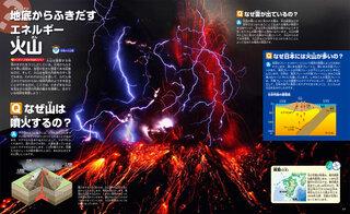 桜島の火山雷