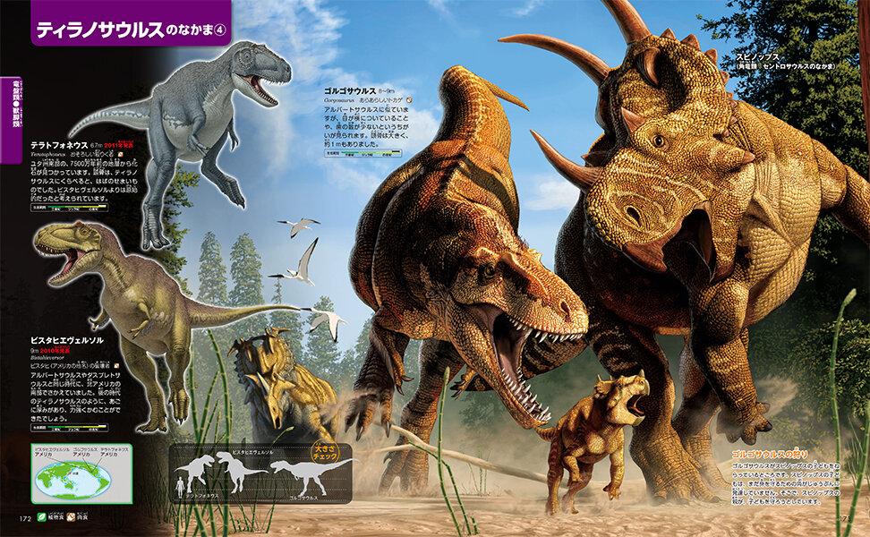 ゴルゴサウルスの狩り