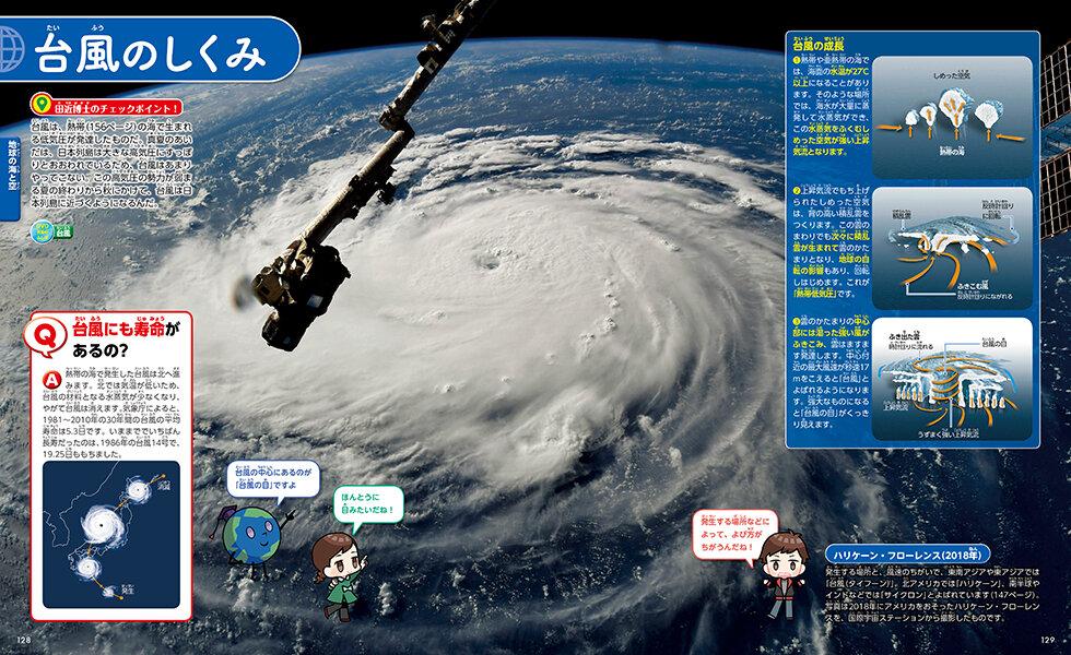 台風のしくみを徹底解説!