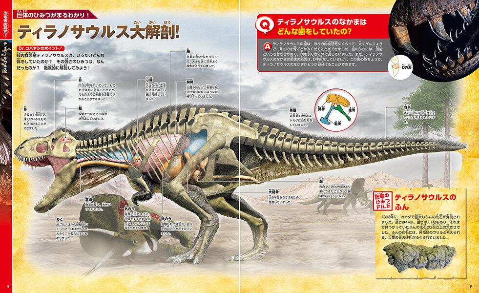 ティラノサウルスを大解剖!