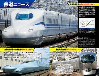 最新の鉄道ニュース!