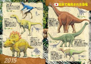 日本で発見された恐竜