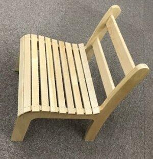 モンテッソーリ自身がデザインした椅子