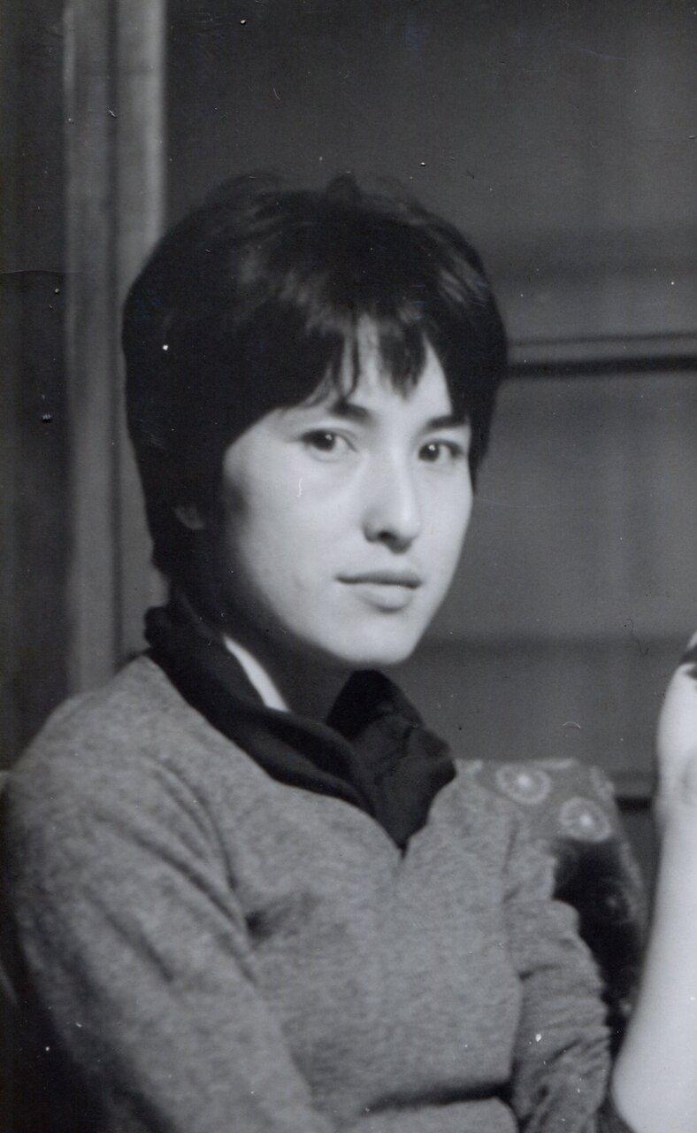22歳ころの角野栄子さん。<br> 写真提供・角野栄子オフィス