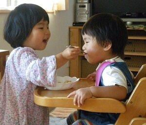 思いやりの心が自然に育つ <br> 4歳3ヵ月