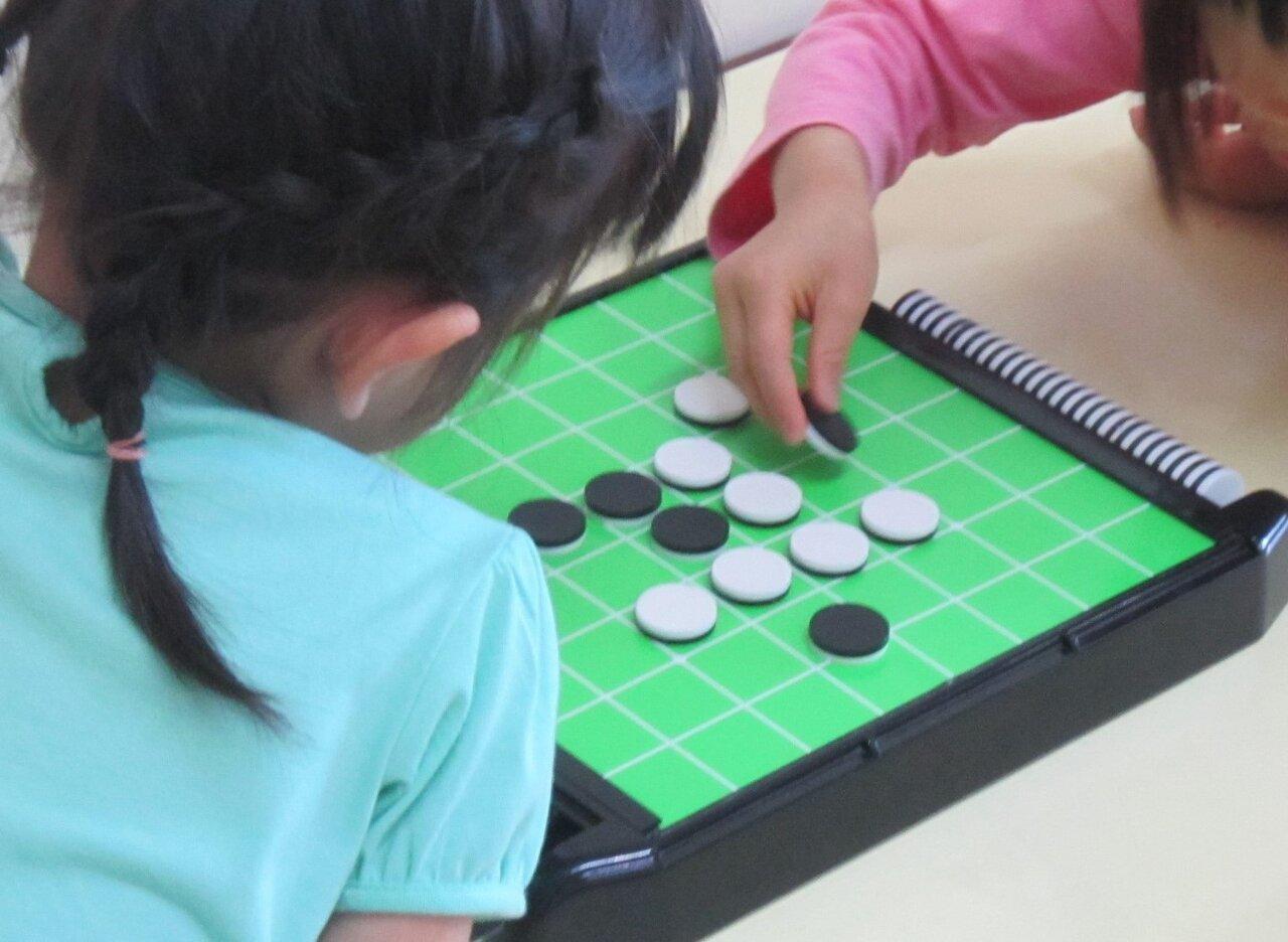 オセロもアナログゲームのひとつ。<br> 写真提供 宍戸信子