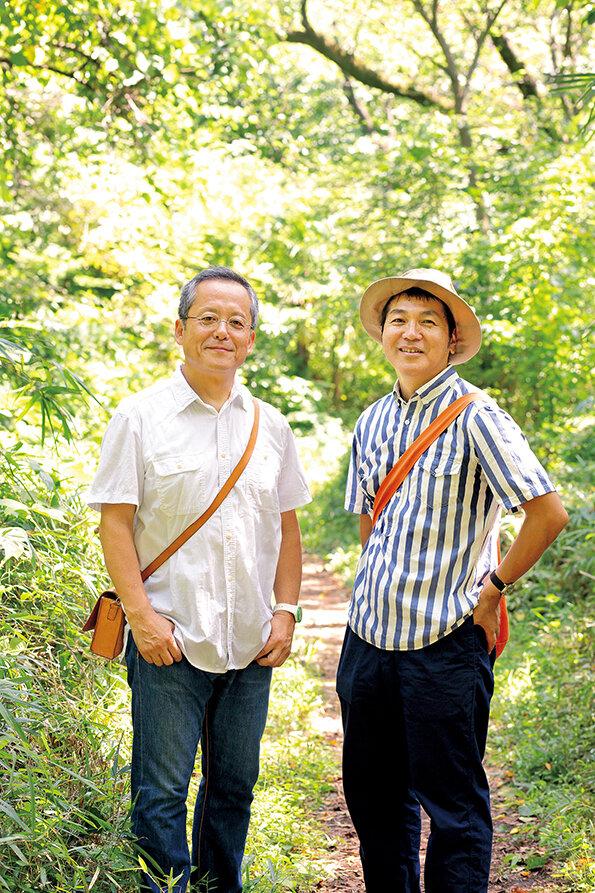 村上康成さん(左)と、はたこうしろうさん(右)  撮影:米沢耕(dandan)