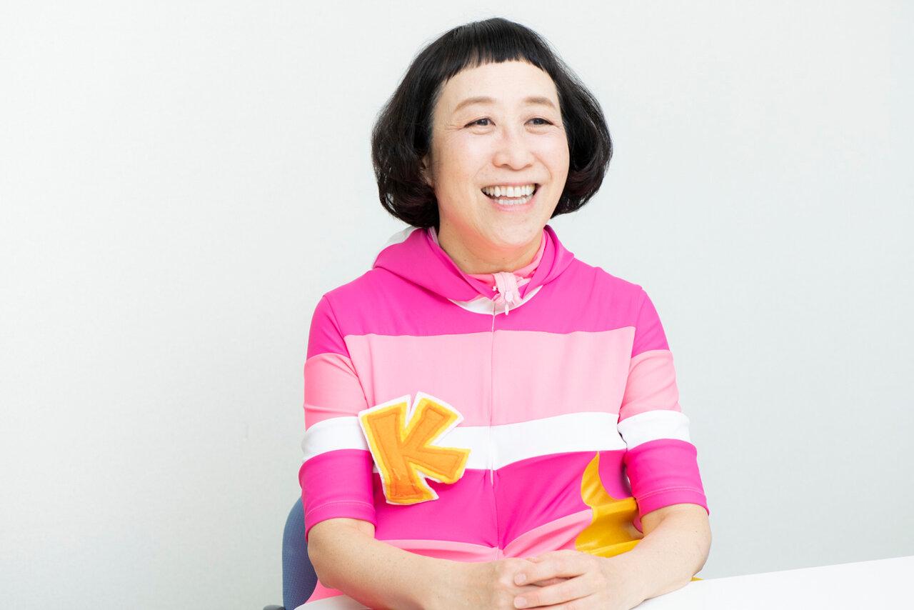 「ケロ」こと増田裕子さん<br> 撮影 森﨑一寿美