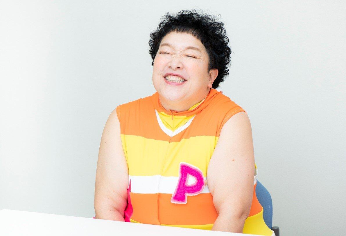「ポン」こと平田明子さん<br> 撮影 森﨑一寿美
