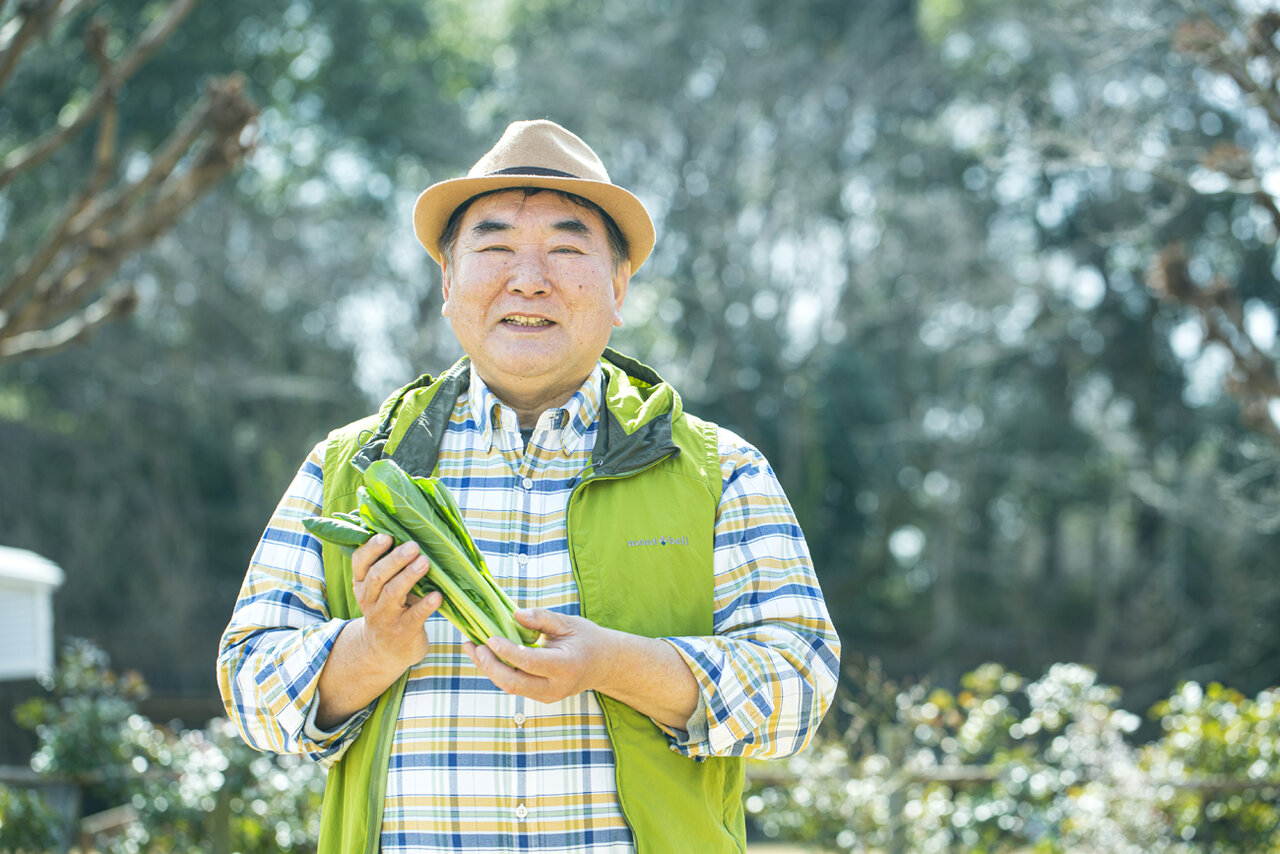 Eテレの園芸番組でもおなじみの恵泉女学園大学の藤田智先生。中折れ帽とチェックのシャツがトレードマーク。<br> 撮影 深澤慎平