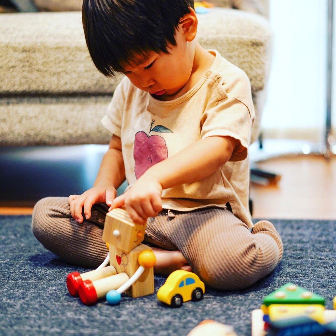 """子どもが気に入ったおもちゃは特別価格での販売も可能。<br> <small class=""""font-small"""">写真提供:Happy Toy</small>"""