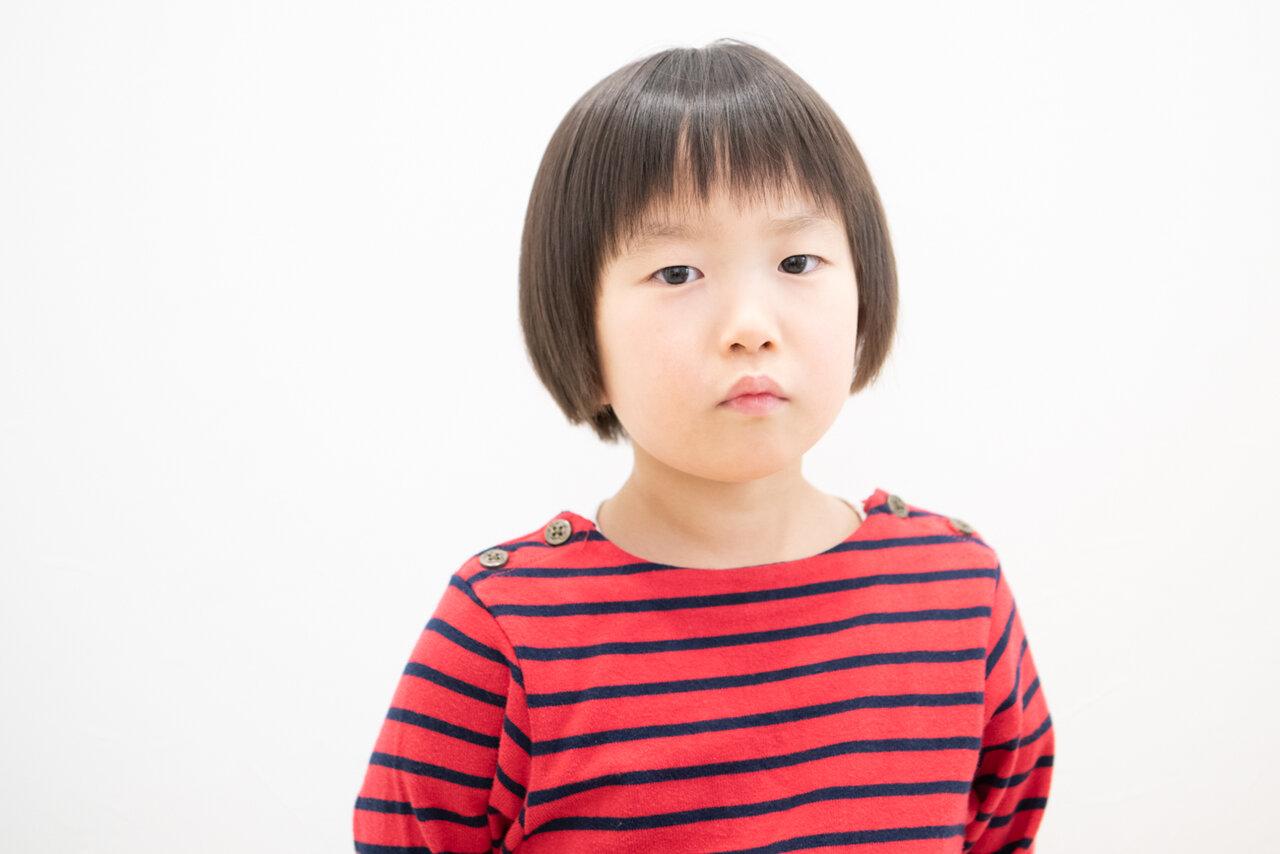 前髪がスッキリ軽くなりました! 撮影:森﨑一寿美