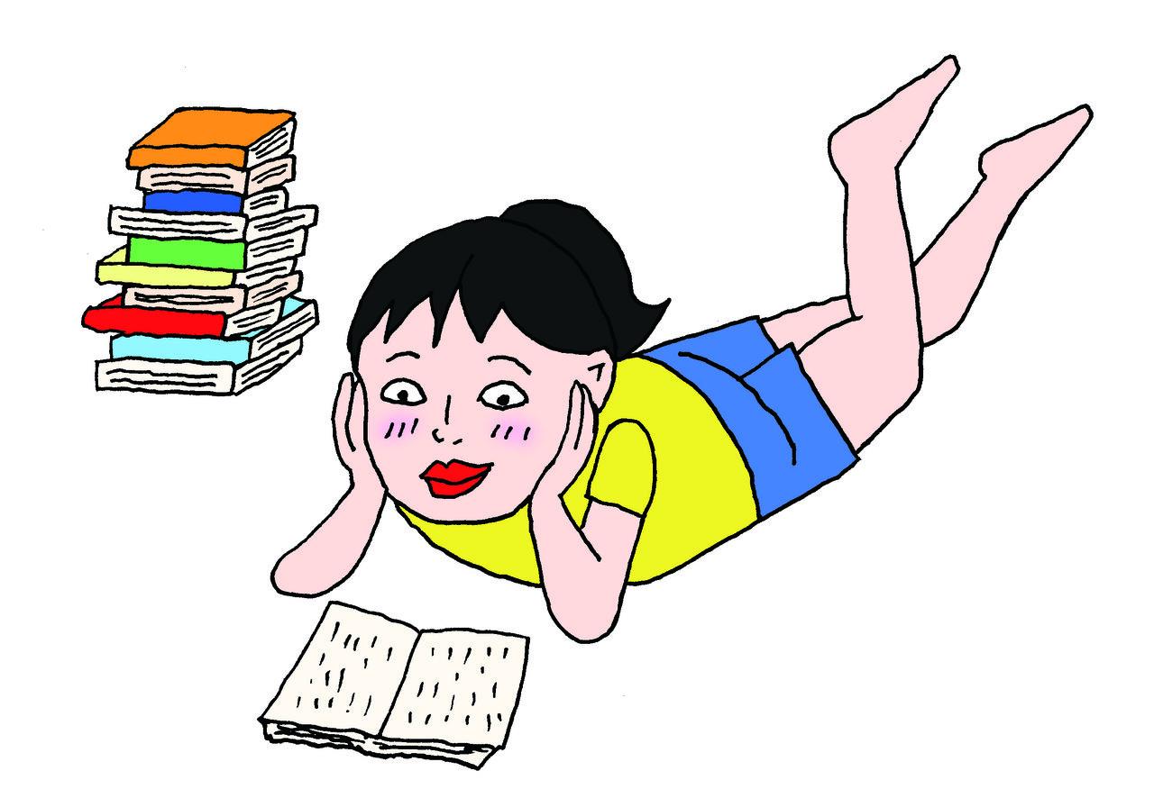 読書がきらいな小学生だったカータンさんが、無類の本好きになったのは……