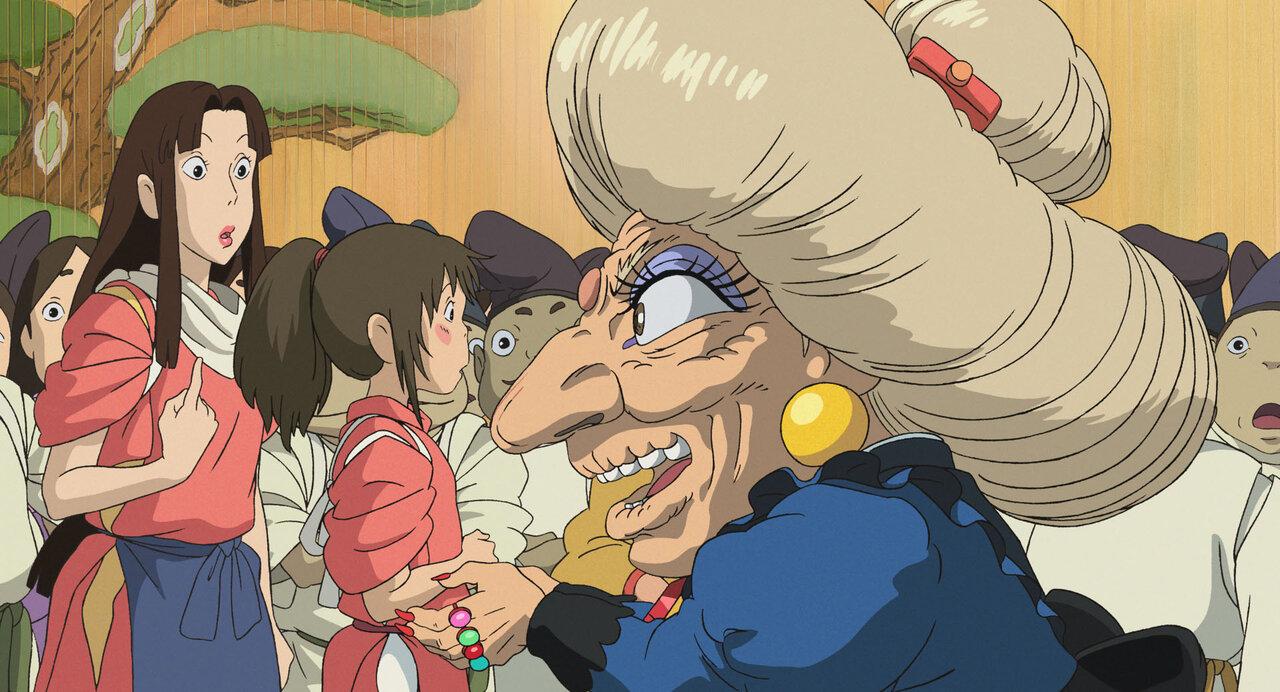『千と千尋の神隠し』(2001年) © 2001 Studio Ghibli・NDDTM