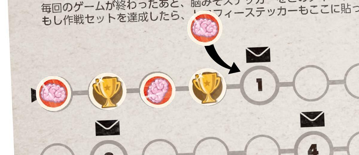 シールが一定の個数になると、ゲームに同梱されている「進化の封筒」を開けることができます。  画像提供:すごろくや