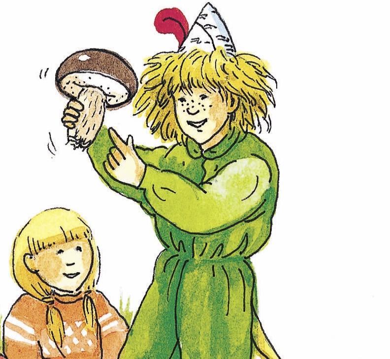 """「森のムッレ」は、スウェーデン野外生活推進協会の事務局長で、ムッレ教室の創設者であるヨスタ・フロムが生み出した妖精です。<br> <small class=""""font-small"""">イラスト提供:日本野外生活推進協会</small>"""