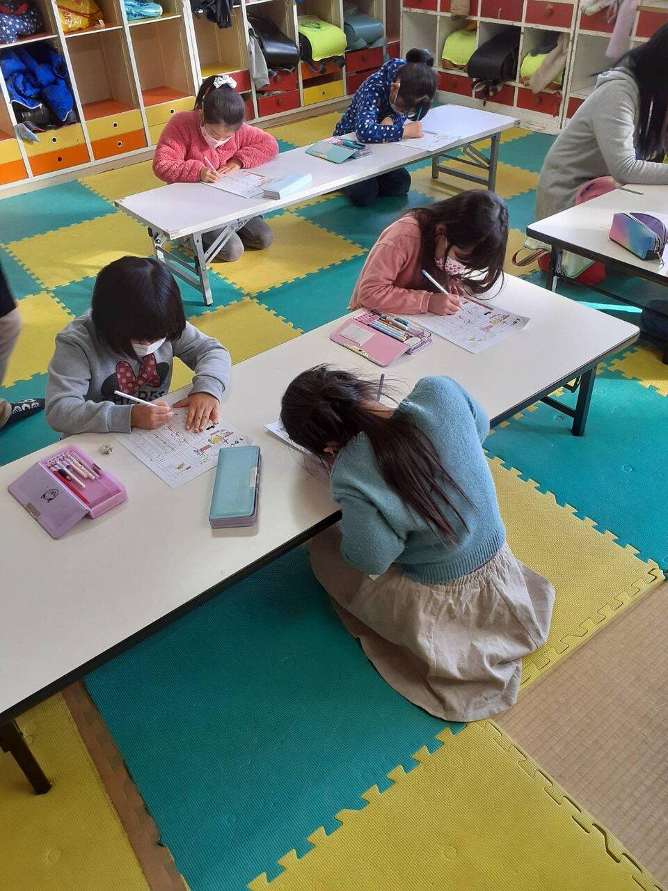 あきやまメソッドで学習する生徒たち