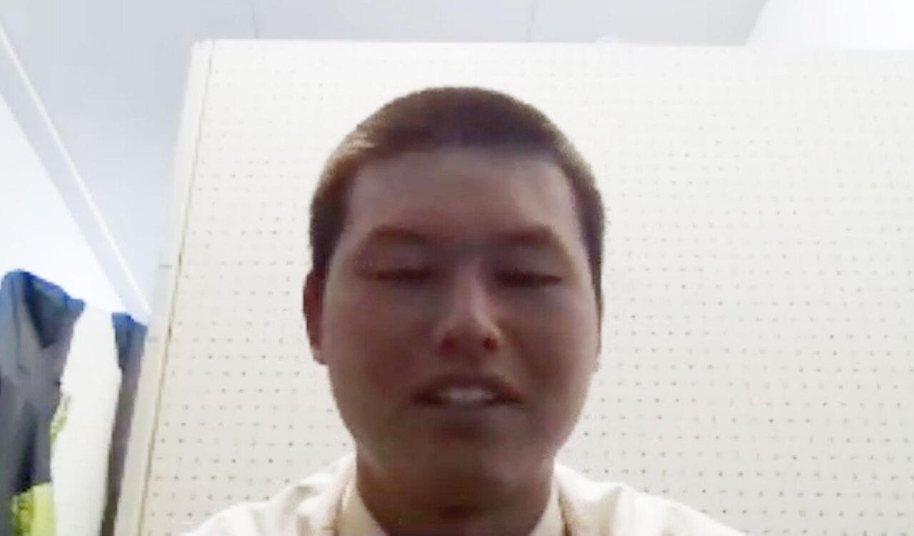 模擬試験の後にzoomでお話を伺いました。