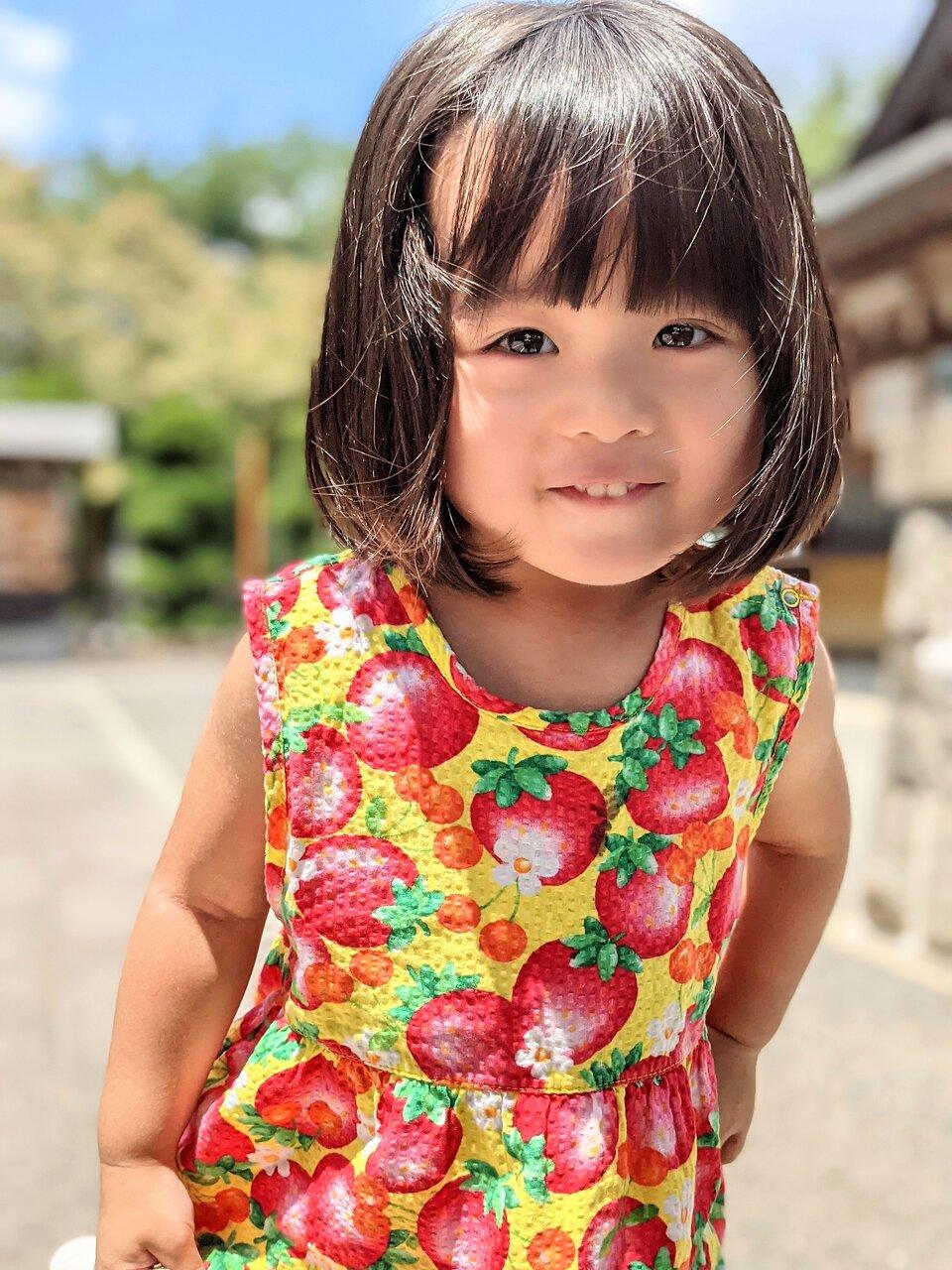 """スマホで撮った2歳児のポートレート。<br> <small class=""""font-small"""">撮影:Raria</small>"""