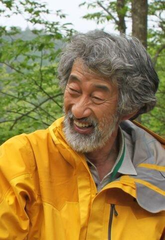 畠山重篤さん。「カキじいさん」と呼ばれる 写真:NPO法人森は海の恋人