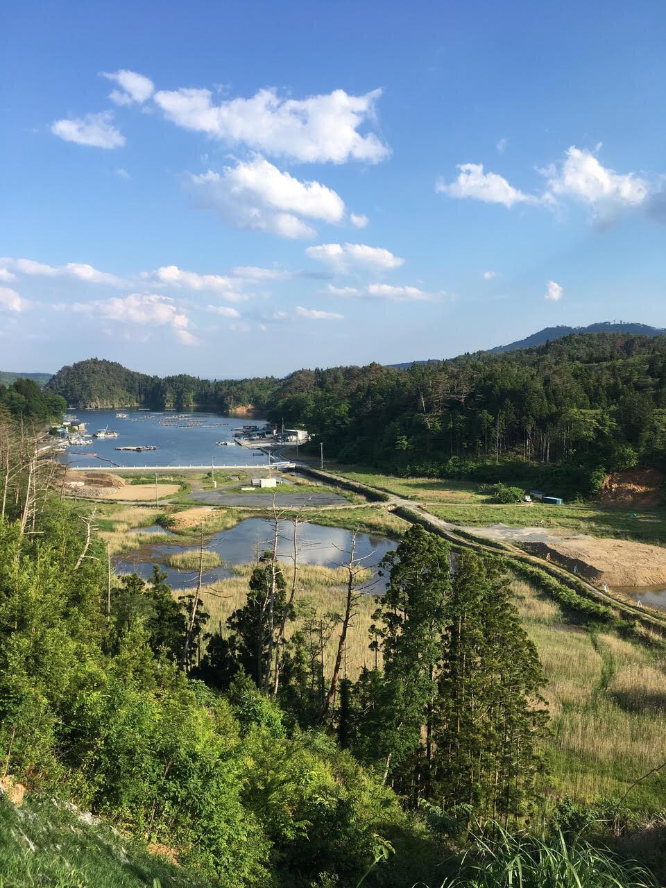 舞根。山・川・湿地・汽水湖・海が一望できるミクロコスモス